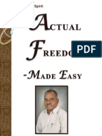 Actual Freedom - Made Easy (Print Friendly Edition)