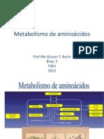 metabolismo de aminoacidos