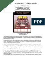 The Hina Matsuri - A Living Tradition  by Alan Pate