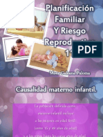 PLANIFICACIÓN FAMILIAR Y RIESGO REPRODUCTIVO
