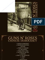 Chinese Democracy's Digital Booklet