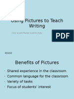Using Pictures to Teach Writing