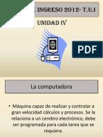 Curso de Ingreso 2012- Unidad IV