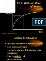 Risk and Rate of Return