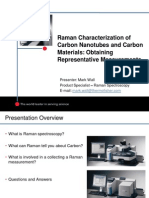 10836_Raman Characterization of Carbon Nano Materials and Obtaining Representative Measurements