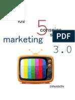 5 Consejos Marketing 3.0