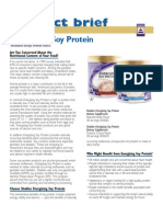 product bulletin - energizing soy protein