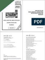 CIRSOC 601 Estructuras de Maderas 2011-2