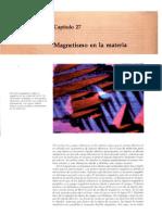 Cap27 - Magnetismo en La Materia