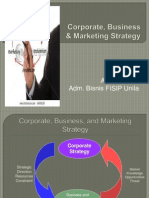Pertemuan 2. Corporate, Business and Marketing Strategy