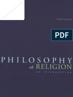 Philosophy of Religion - Fourth Edition
