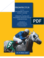 Prospectus - Satellite Wagering Facility San Mateo Fair - Christopher Korby - CARF wAddendum-Mar -08