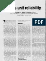 Claus Unit Reliability