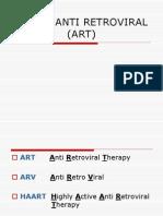 ANTIRETROVIRAL THERAPY1