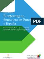 El reporting no financiero en Europa  y España
