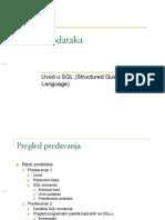 Uvod u SQL - Skripta