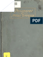 Jerome R. Riley--The Philosophy of Negro Suffrage (1897)
