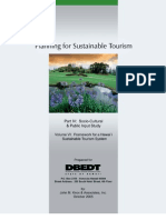 Sustainable Tourism System Framework