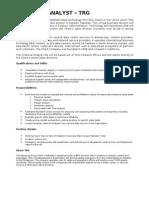 Deal Desk Finance Analyst