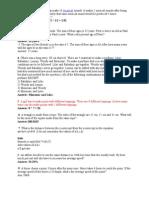 TCS 451 Sample Questions