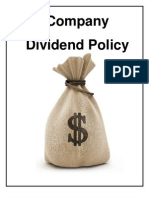 16993379 Company Dividend Policy