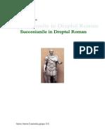 Succesiunea in Dreptul Roman