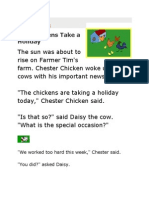 Chickens Take a Holiday