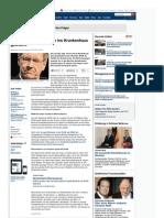 Strahlenfolter - Christian Wulff - Nach Ruecktritt Als Bundespraesident Mit Nierenkolik Ins Krankenhaus