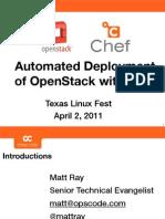 TXLF2011-OpenStack