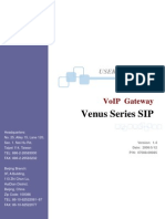 Tainet Venus SIP Manual