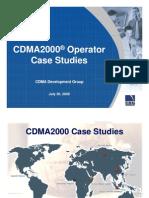 Cdma2000 Case Studies Cdg 30july2009v1