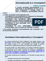 Societatea Informationala