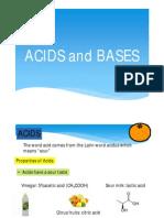 III - (7) Acids and Bases