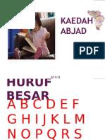 BBM KEADAH ABJAD
