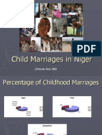 Child Brides in Niger