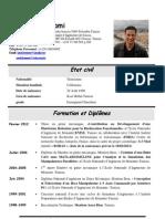 CV sami 2012word