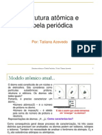 Estrutura atômica e tabela periódica