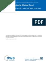 Deutsche Bank Mutual Funds