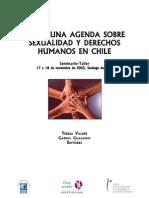 Seminario Hacia Una Agenda Sobre Sexual Id Ad y Derechos Humanos en Chil