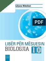 Liber Mesuesi Biologjia 10