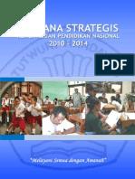 Indonesia Education Strategic Plan 2010-2014
