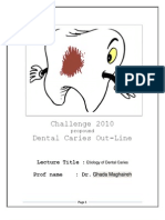 Etiology of Dental Caries (3)