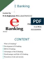 E Banking Vinoth