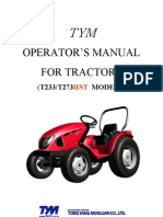 TYM Operators Manual