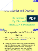 (2) PAL Encoder and Decoder