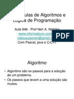 Vídeo Aulas de Algoritmos e Lógica de Programação