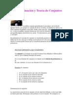 Determinación y Teoría de Conjuntos- 1