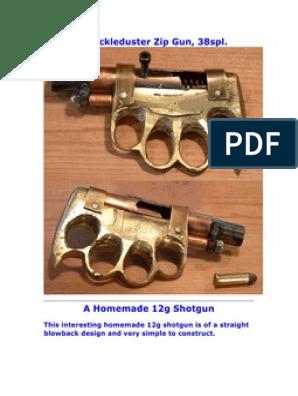 A Knuckle Duster Zip Gun | Military Technology | Firearms
