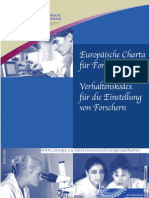 European Charter for Researchers De