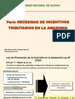 Incentivos Tributarios Amazonía